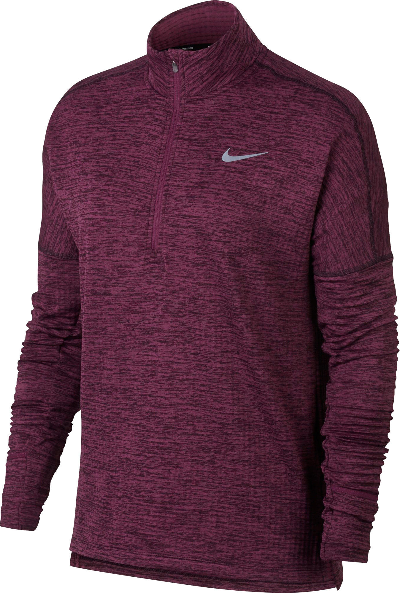 7b344d1c0bd Nike Therma Sphere Element Hardloopshirt lange mouwen Dames rood I ...